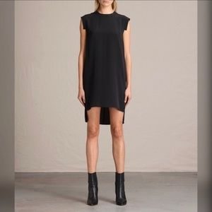ALLSAINTS Tonya Lew High/Low Dress